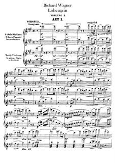 Вся опера: Партия I скрипок by Рихард Вагнер