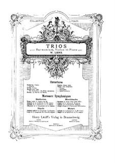 Юбилейная увертюра, J.245 Op.59: Для фисгармонии, скрипки и фортепиано by Карл Мария фон Вебер