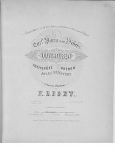Юбилейная увертюра, J.245 Op.59: Для фортепиано, S.576 by Карл Мария фон Вебер