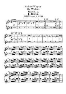 Валькирия, WWV 86b: Партии флейт by Рихард Вагнер