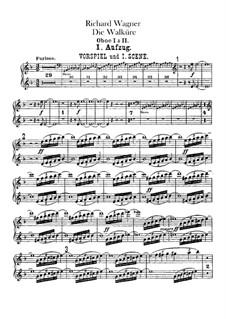 Валькирия, WWV 86b: Партии гобоев by Рихард Вагнер