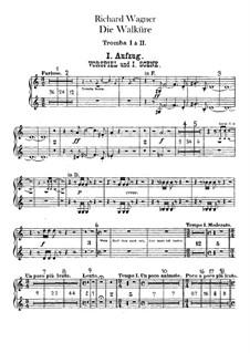 Валькирия, WWV 86b: Партии труб by Рихард Вагнер