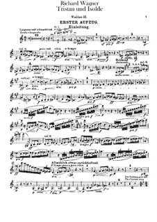 Вся опера: Партия II скрипок by Рихард Вагнер
