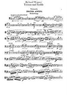 Вся опера: Партия виолончелей by Рихард Вагнер