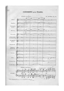 Фортепианный концерт No.1, Op.39: Фортепианный концерт No.1 by Шарль Мари Видор