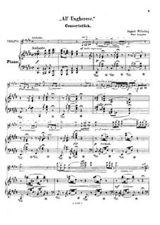 All' ungherese (after Franz Liszt): Для скрипки и фортепиано by Август Вильгельми