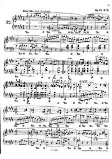 Мазурки, Op.50: No.3 до-диез минор by Фредерик Шопен