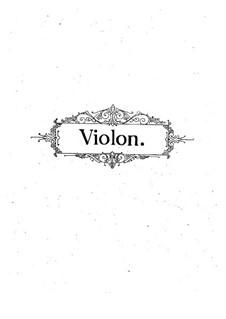 Фантазия на темы из оперы 'Волшебная флейта' Моцарта, Op.54: Сольная партия by Пабло де Сарасате