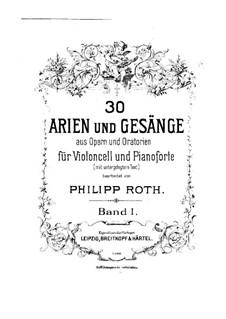 Winkt mir Erbarmen: Für Cello und Klavier by Алессандро Страделла