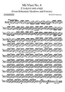 В лесах и лугах Богемии, T.114: Партия виолончелей by Бедржих Сметана