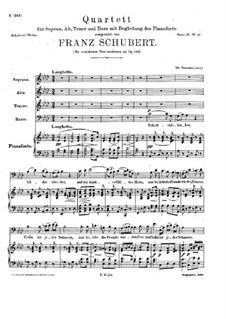Schicksalslenker, D.763 Op.146: Schicksalslenker by Франц Шуберт