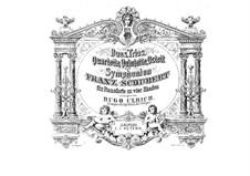Струнный квартет No.13 ля минор 'Розамунда', D.804 Op.29: Аранжировка для фортепиано в 4 руки by Франц Шуберт