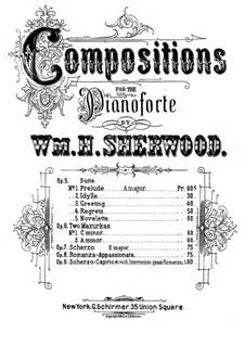 Romanza Appassionata, Op.8: Romanza Appassionata by William H. Sherwood