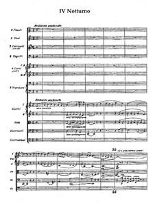 Серенада фа мажор, Op.31: Ноктюрн by Вильгельм Стенхаммар
