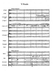 Серенада фа мажор, Op.31: Финал by Вильгельм Стенхаммар