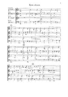 Easter Mass: Easter Mass by Томас Ми Штольцер