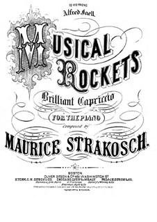 Musical Rockets: Для фортепиано by Морис Стракош