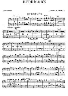Ruddigore, or The Witch's Curse: Партия тромбонов by Артур Салливан