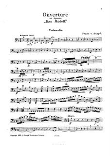 Overture to 'The Model': Партия виолончели by Франц фон Зуппе