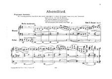 Вечерняя песня для органа: Вечерняя песня для органа by Edward E. Harper
