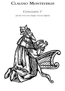 Selva morale e spirituale, SV 252–288: Confitebor primo à 3 voci con 5 altre voce ne repleni, SV 265, 193 by Клаудио Монтеверди