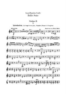 Балетная сюита: Скрипка II by Жан-Батист Люлли