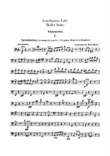 Балетная сюита: Партия виолончели by Жан-Батист Люлли