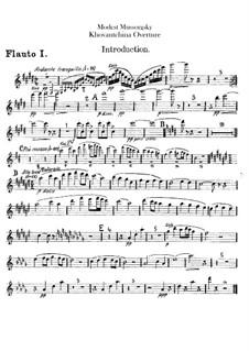 Фрагменты: Интродукция – партии флейт by Модест Мусоргский