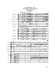 Вся опера: Акт III by Бедржих Сметана
