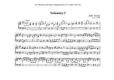 Ten Voluntaries for Organ (or Harpsichord), Op.7: Voluntary No.1 in A Major by Джон Стэнли