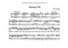 Ten Voluntaries for Organ (or Harpsichord), Op.7: Voluntary No.8 in A Minor by Джон Стэнли