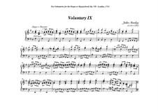 Ten Voluntaries for Organ (or Harpsichord), Op.7: Voluntary No.9 in G Major by Джон Стэнли