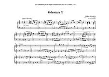 Ten Voluntaries for Organ (or Harpsichord), Op.7: Voluntary No.10 in F Major by Джон Стэнли