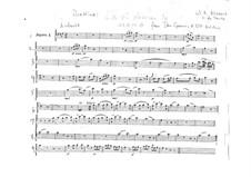 Ручку, Церлина, дай мне: Партия I фагота by Вольфганг Амадей Моцарт