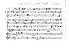 Ручку, Церлина, дай мне: Партия альта by Вольфганг Амадей Моцарт