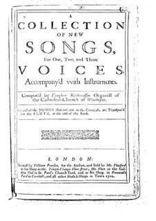 Коллекция новых песен: Коллекция новых песен by Vaughan Richardson