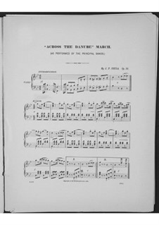 Across the Danube, Op.36: Across the Danube by Джон Филип Суза