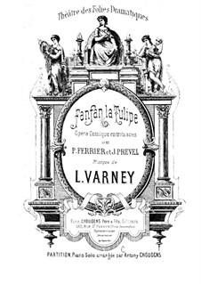 Фанфан-Тюльпан: Фанфан-Тюльпан by Луи Варне