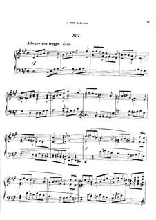 Двадцать пять прелюдий, Op.64: Прелюдия No.7 by Цезарь Кюи