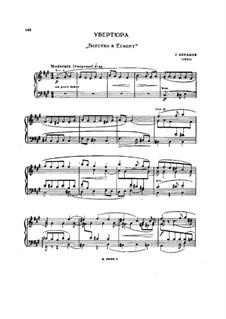 Детство Христа, H.130 Op.25: Увертюра, для фортепиано by Гектор Берлиоз