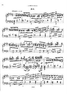 Двадцать пять прелюдий, Op.64: Прелюдия No.8 by Цезарь Кюи