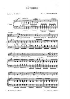 Reverie: Клавир с вокальной партией by Камиль Сен-Санс