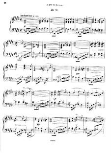 Двадцать пять прелюдий, Op.64: Прелюдия No.9 by Цезарь Кюи