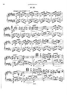 Двадцать пять прелюдий, Op.64: Прелюдия No.10 by Цезарь Кюи
