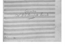 Кантата 'Кассандра' для голоса и бассо континуо: Кантата 'Кассандра' для голоса и бассо континуо by Бенедетто Марчелло