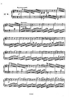 Одиннадцать пьес в религиозном стиле и транскрипция на тему из 'Мeссии' Генделя, Op.72: No.6-9 by Шарль Валантен Алькан