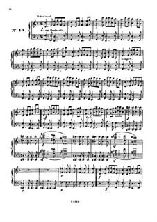 Одиннадцать пьес в религиозном стиле и транскрипция на тему из 'Мeссии' Генделя, Op.72: No.10-12 by Шарль Валантен Алькан