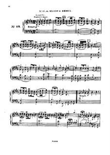 Одиннадцать пьес в религиозном стиле и транскрипция на тему из 'Мeссии' Генделя, Op.72: No.12 Транскрипция by Шарль Валантен Алькан