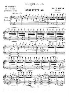Эскизы для фортепиано, Op.63: No.37-48 by Шарль Валантен Алькан