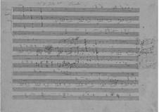 Фортепианное трио си-бемоль мажор, D.28: Партитура by Франц Шуберт